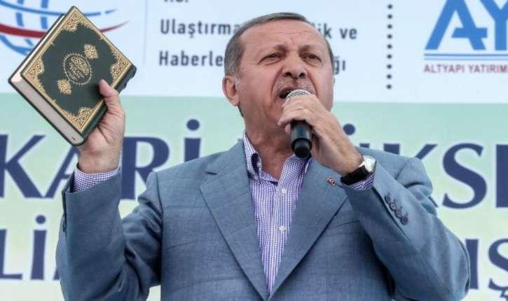 Le Dictateur National-Islamiste Erdogan menace l'Europe : «Aucun Européen ne pourra plus faire un pas en sécurité»