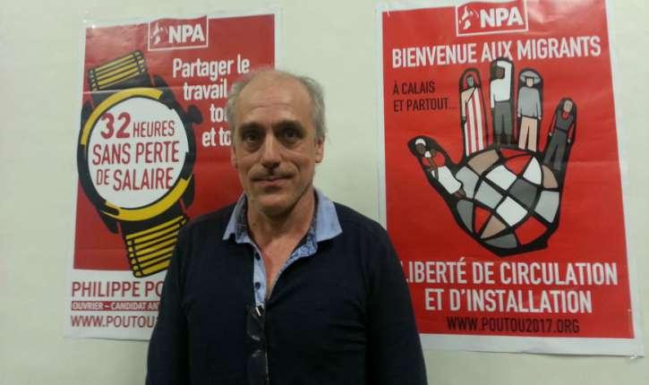 Philippe Poutou du Parti anticapitaliste, souhaite désarmer la Police. «Proposition pas si saugrenue» pour Libération