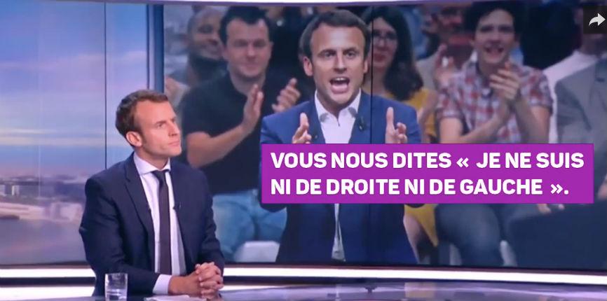 [Vidéo] Quand le candidat Macron affirme tout et son contraire… Best of