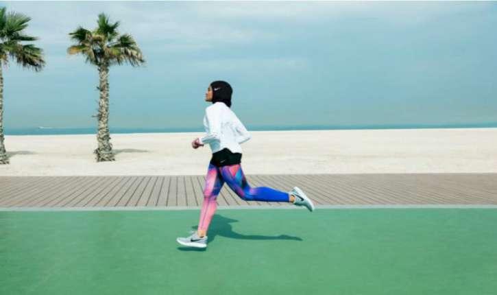 [Vidéo. Photos) Nike va lancer sa première collection de hijab au printemps 2018. «Nike Pro Hijab»