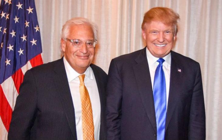 David Friedman, proche de Donald Trump, a prêté serment comme ambassadeur des Etats-Unis en Israël«Les Etats-Unis seront toujours l'ami fidèle de l'Etat juif d'Israël»