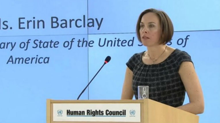 [Vidéo] La représentante américaine au Conseil des droits de l'Homme dénonce «l'obsession contre Israël qui menace la crédibilité de ce conseil»