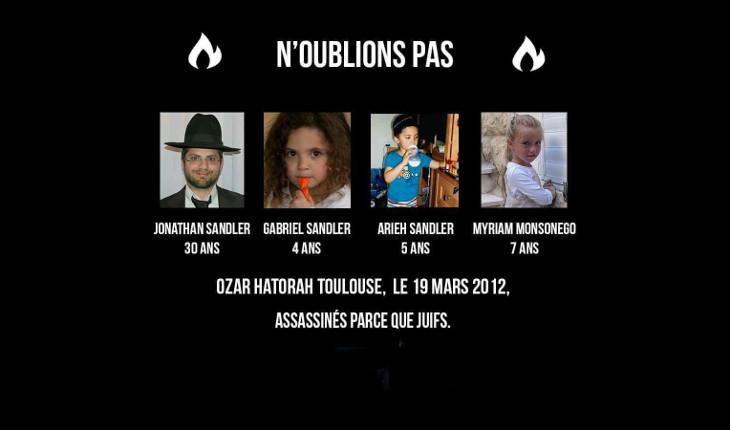 In memoriam: l'attaque terroriste de l'école Ozar HaTorah de Toulouse