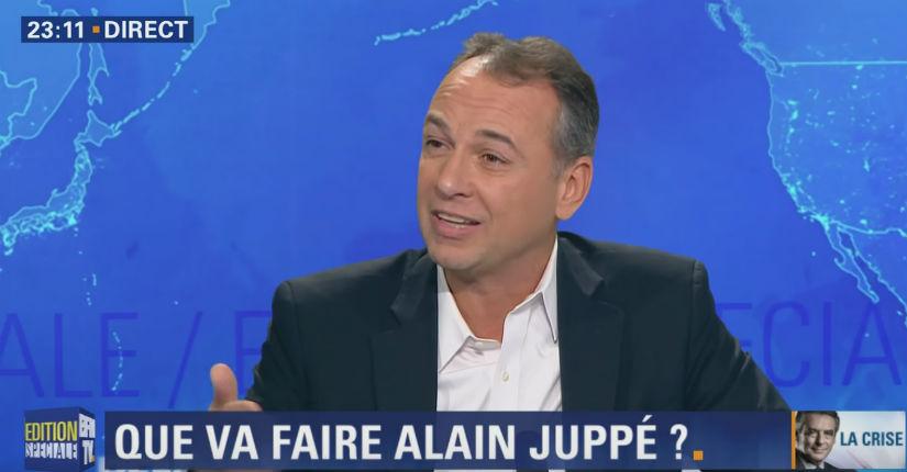 [Vidéo] Philippe Karsenty « On voudrait substituer à Fillon, Juppé qui a été condamné pour emplois fictifs ? »