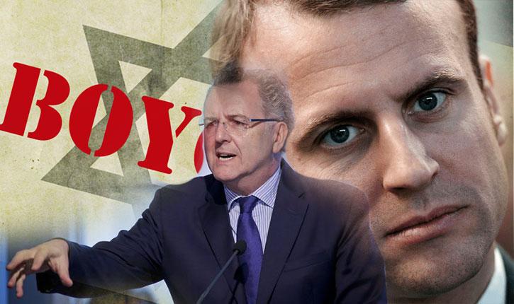 Macron a pour bras droit un pro-palestinien enragé: Richard Ferrand