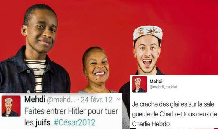 Le retour de l'antisémite et homophobe Mehdi Meklat… sponsorisé par le CNC, l'agglomération de Bordeaux , la SACEM, le préfet de région et le Service civique ?