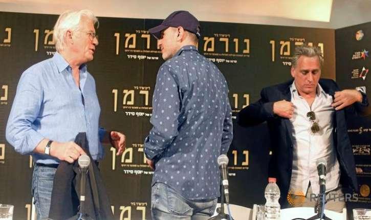 En visite en Israël, Richard Gere demande aux juifs d'abandonner Jérusalem aux musulmans