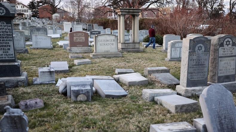 [Vidéo]Résurgence de l'antisémitisme aux Etats Unis : Un troisième cimetière juif vandalisé à Rochester, NY,