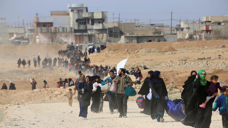 Des terroristes de Daesh pourraient se cacher parmi les civils fuyant Mossoul