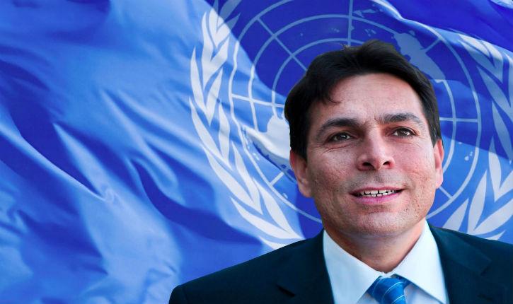 «Les relations  Hamas – UNRWA doivent être vérifiées» (Dany Danon, ambassadeur d'Israel à l'ONU)