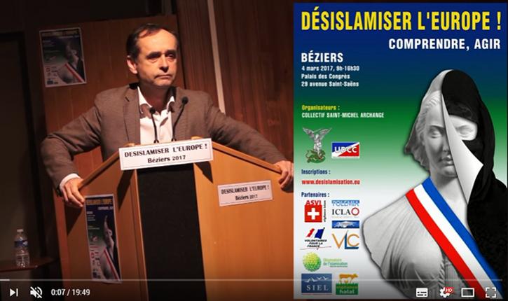[vidéo] «Nous avons la solution pour désislamiser l'Europe» La conférence sur la désislamisation  : un grand succès !