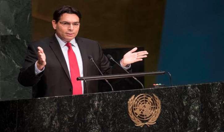 L'ambassadeur d'Israël, Danny Danon, a demandé à l'ONU : «Reconnaissez enfin les enfants israéliens victimes du terrorisme»
