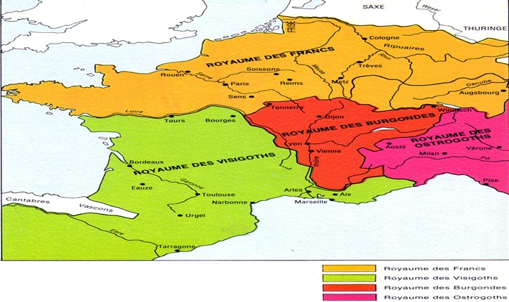 [Histoire] Gallia ou Francia : le vrai nom de la France.