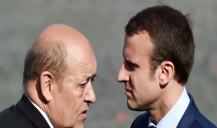 Le Drian a t il transmis à Macron des éléments classés secret défense?