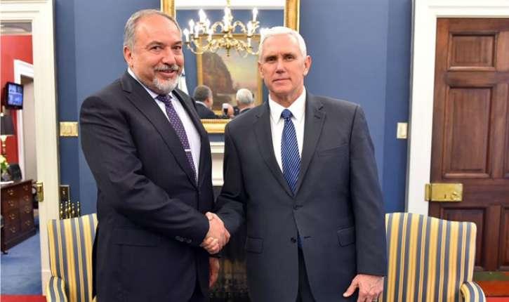 Maison Blanche : Rencontre importante entre le Vice-président Mike Pence et le Ministre de la défence israélien Lieberman