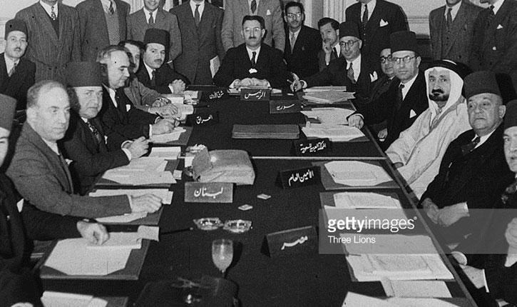 Document déclassifié: La Ligue Arabe et l'établissement d'un statut de dhimmi pour les Juifs en Palestine mandataire