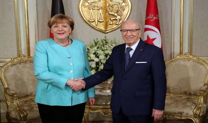 La Tunisie réussie son coup de chantage sur Merkel: 275 millions € en contrepartie de la récupération des djihadistes
