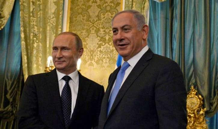 Le Kremlin prépare sa rencontre avec Netanyahou