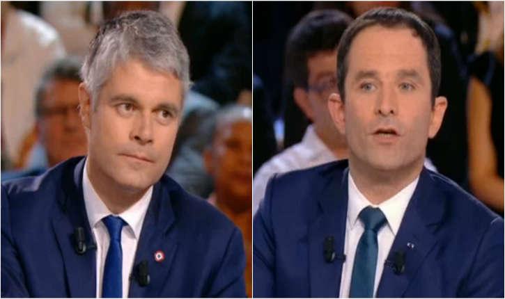Benoît Hamon et Laurent Wauquiez s'écharpent sur le voile et l'islam