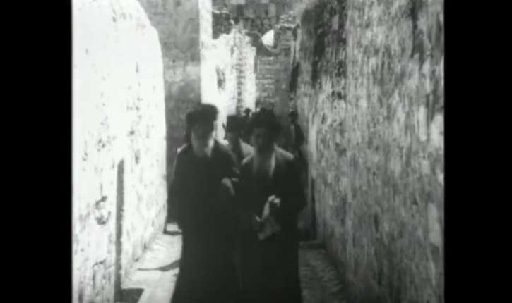 [Vidéo] Exceptionnel : Pessah au Kotel en 1913