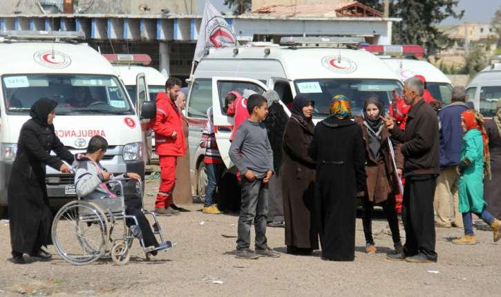 Les auteurs de l'attentat contre les évacués syriens (130 morts, dont une moitié d'enfants) déguisés en humanitaires