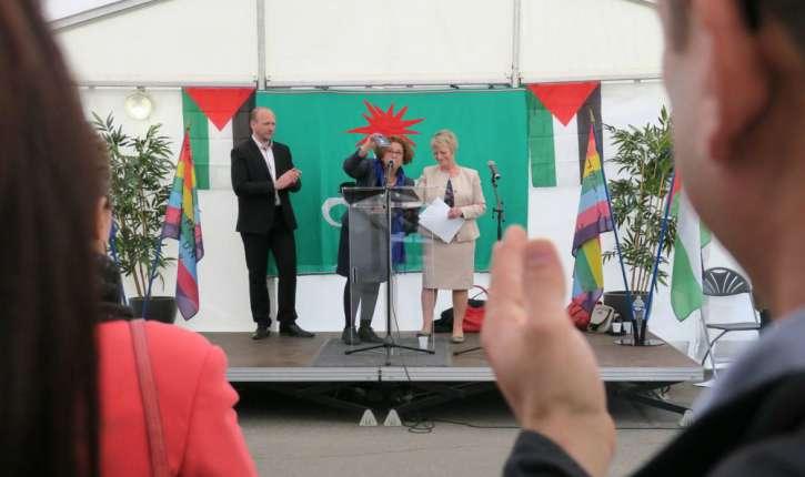 La Maire PCF de Valenton promue Citoyenne d'Honneur par Mahmoub Abbas, pour son soutien au terrorisme palestinien
