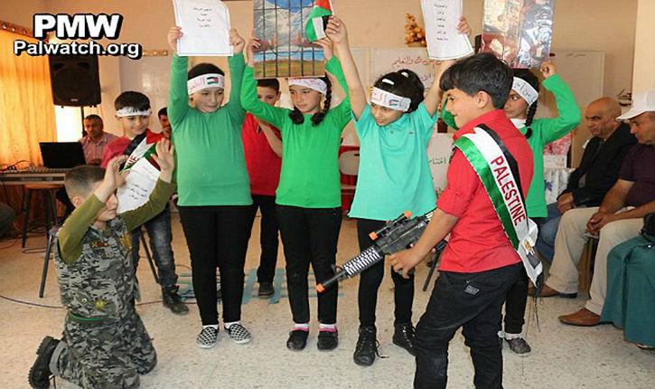 Les enfants palestiniens poussés à la violence par l'enseignement
