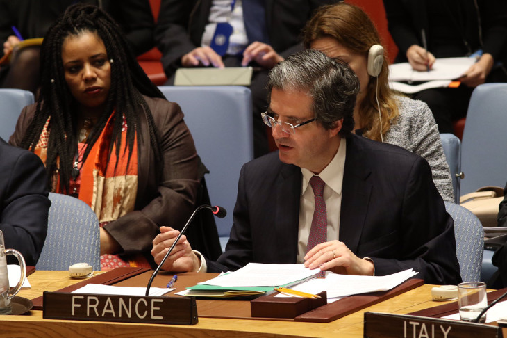ONU: la France vent debout contre Israël