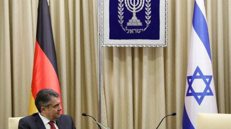 Netanyahu Sigmar Gabriel