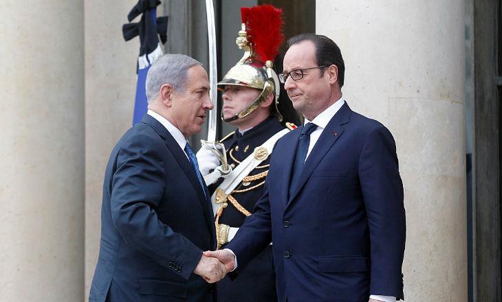 Netanyahu et Hollande