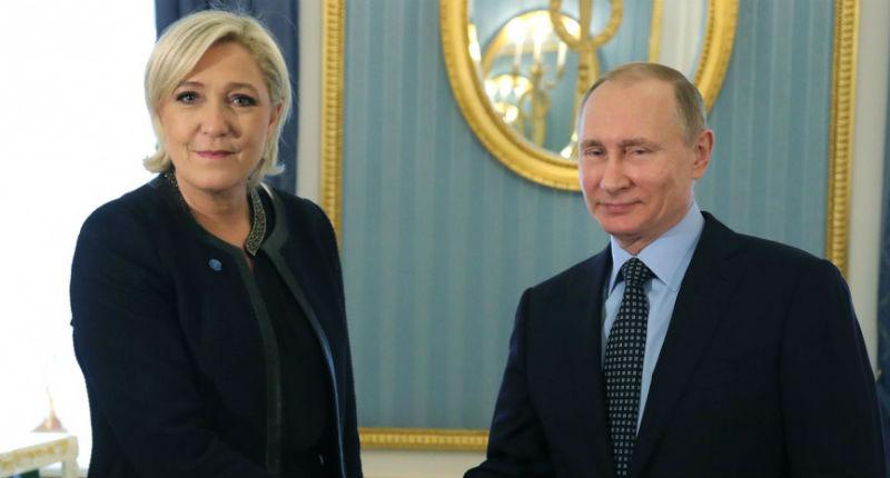 Le «Nouvel Obs» en flagrant délit de fake news et de complotisme :  selon lui «le Kremlin devrait intervenir pour faire gagner Marine Le Pen»