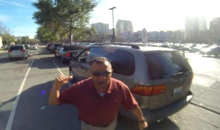 Nice : Ahmed roue de coup un cycliste de 71 ans qui avait posé la main sur sa voiture