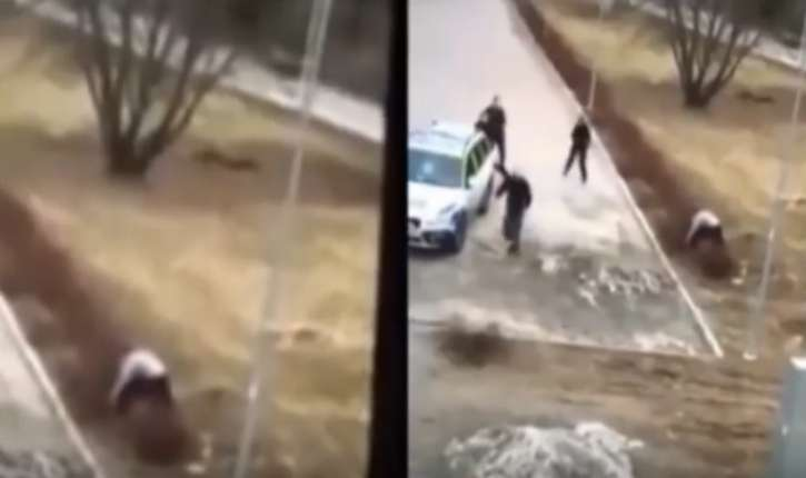 SWEDISHPOLICEFIASCO3femalecopsbeatenby1malerefugee-PolisenSverige=JOKE-YouTube