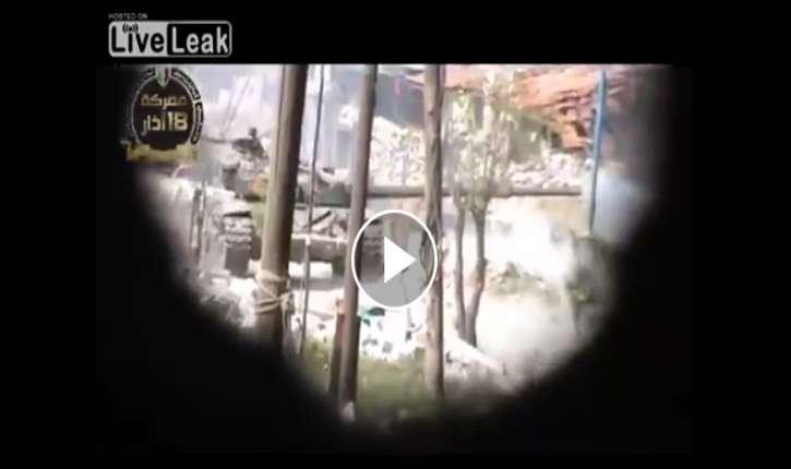 [Vidéo] Syrie : Après quelques «Allah Akbar»…de trop…