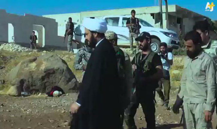 The leader of the Iraq group Najbaa Movement In Aleppo 6