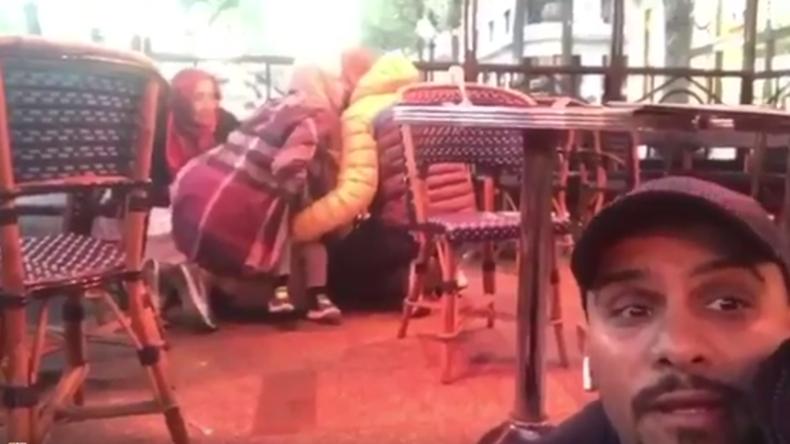 L'attaque islamiste contre la police sur les Champs-Elysées filmée par des témoins (VIDEOS CHOC)