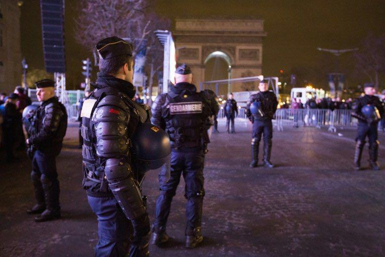 attentat paris champs elysees policier tué