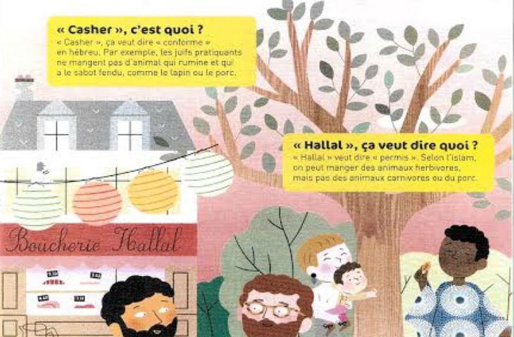 Les éditions Nathan s'illustrent encore par un manuel pour enfant véhiculant des idées antisémites