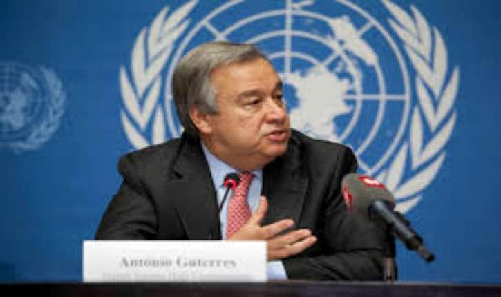 Secrétaire-Général de l'ONU Antonio Guterres : «dénier l'existence d'Israël est antisémite»