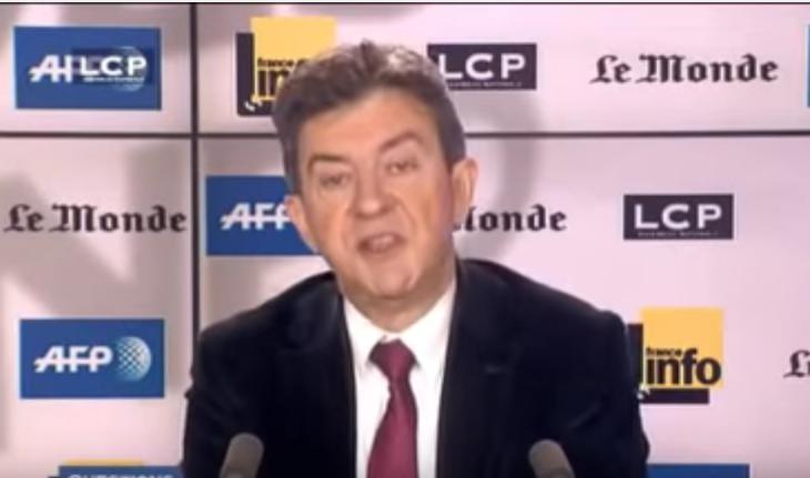 (Vidéos) Quand Mélenchon se félicite du Grand Remplacement et nie le racisme anti-blanc