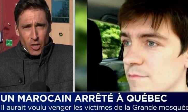 Canada/Québec : Un musulman d'origine marocaine traverse l'atlantique dans but de venger les victimes de l'attentat de la mosquée de Québec.