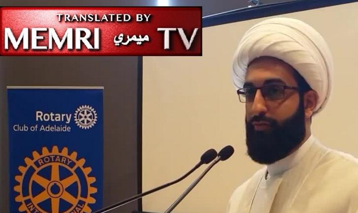 L'imam chiite australien Mohammad Tawhidi : « Cela va me causer des ennuis de le dire, mais la Palestine est une terre juive. Sérieusement, qui ne sait pas cela ? »
