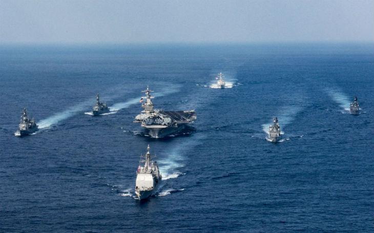 marine US Coree du Nord