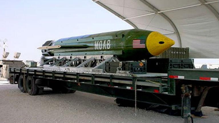 La méga bombe américaine a tué 36 djihadistes de l'Etat islamique en Afghanistan