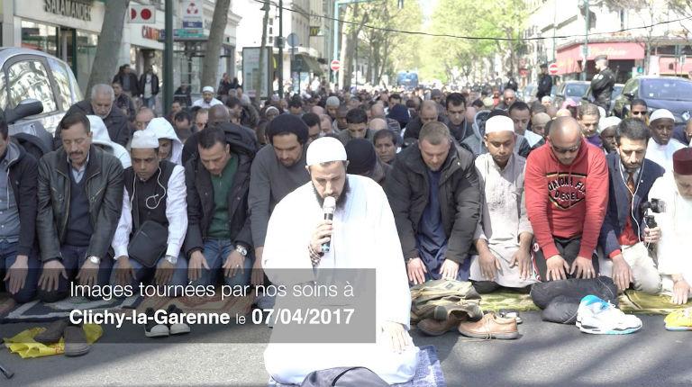 prières de rue