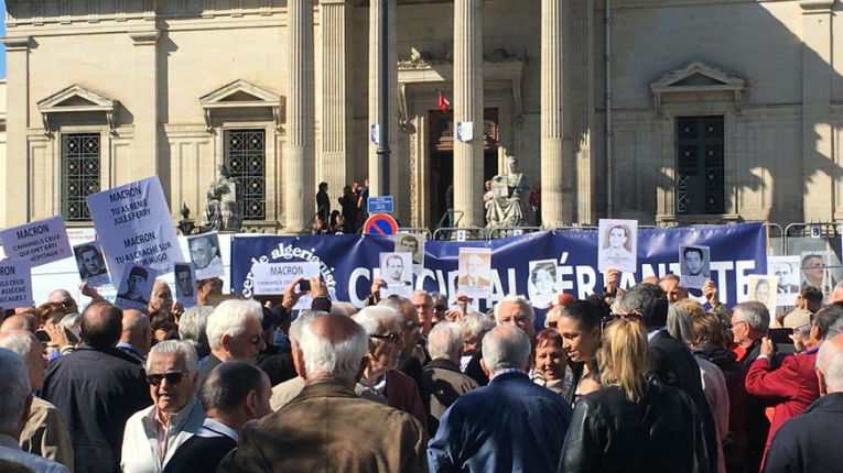 Plainte contre Macron pour injures confirmée à Perpignan après ses propos sur la colonisation