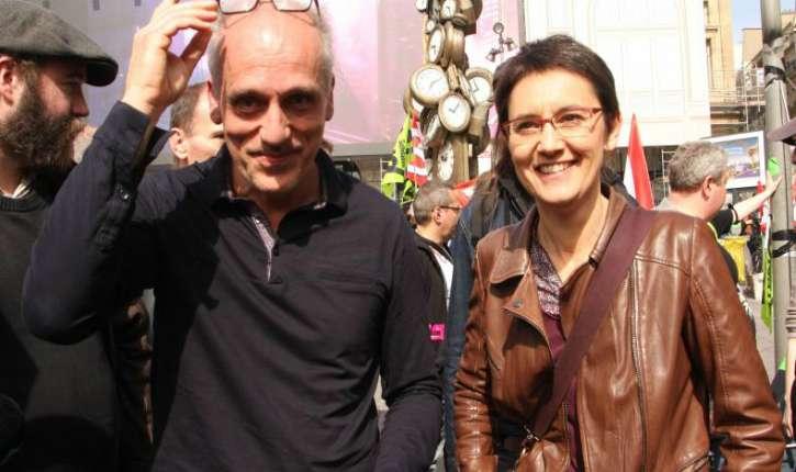 [Photos] Après Poutou, Nathalie Arthaud répond aux islamistes du CCIF en fustigeant le « lobby catholique »