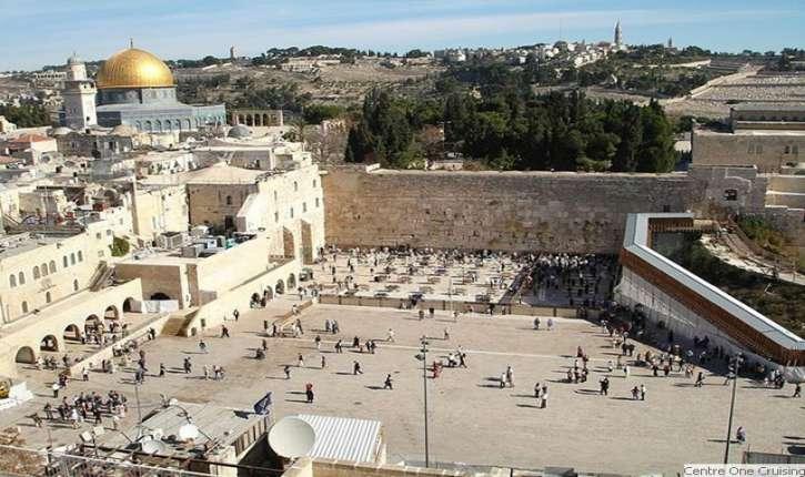 Donald Trump en Israël, visites de sites hautement symboliques. Premier président américain en exercice à se rendre au Mur des Lamentations