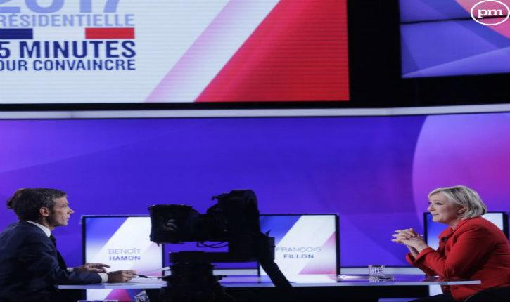 """Marine Le Pen à Pujadas : """"Vous ne pensez qu'à lécher le cul du pouvoir"""""""
