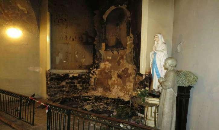 Fontainebleau : l'incendiaire d'une Eglise jugé coupable mais irresponsable…un de plus!